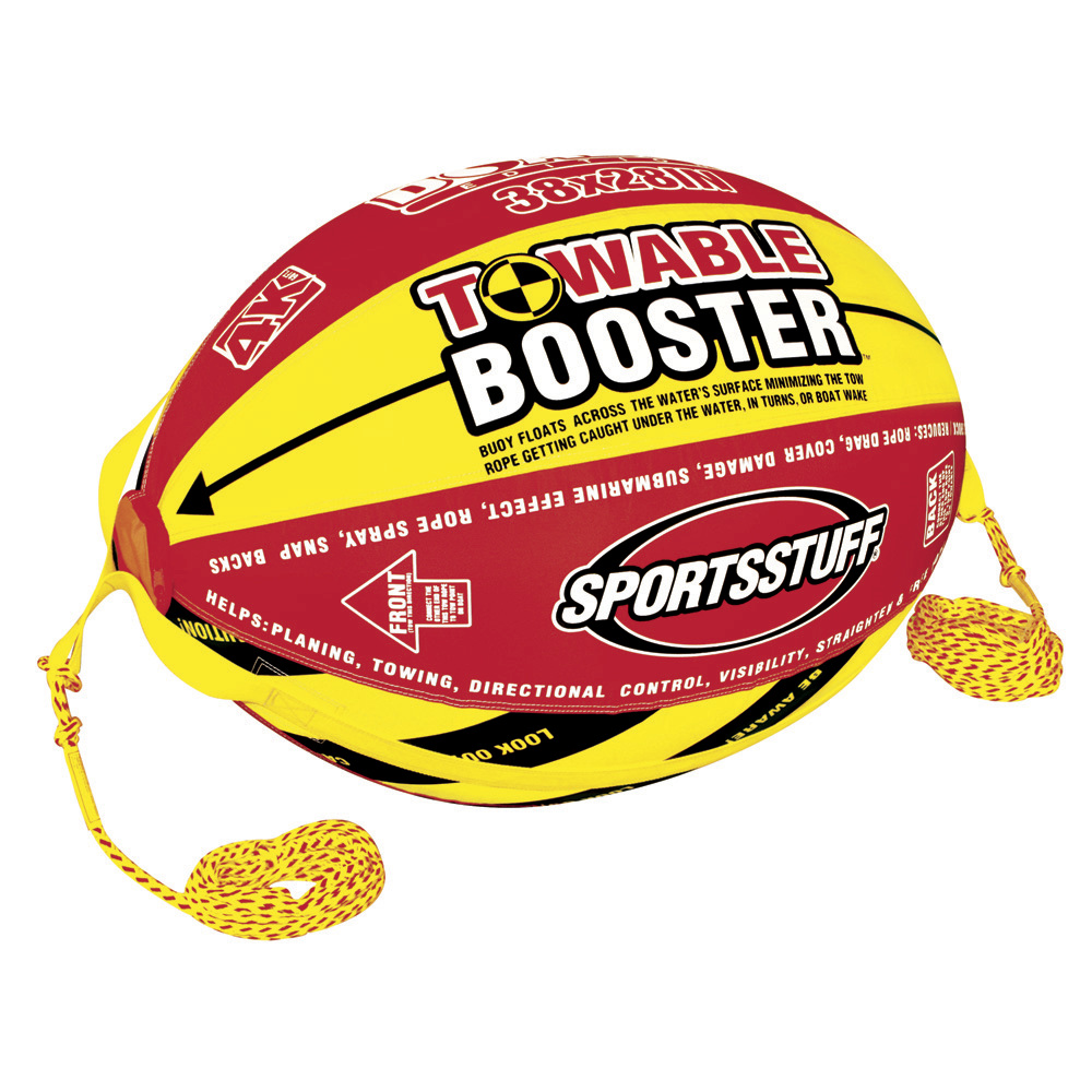 Sportsstuff Doable 4k Booster Ball with Custom Tow Rope - 53-2030