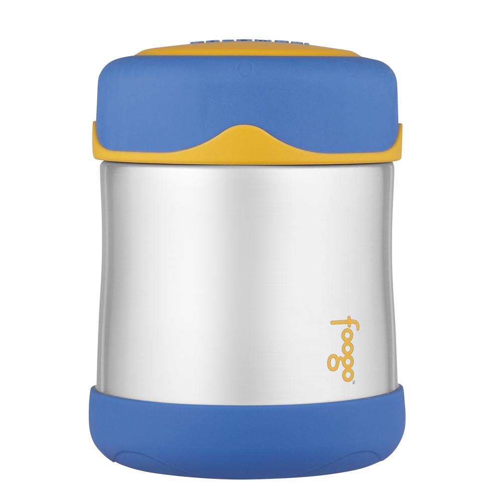Thermos Foogo Leak-Proof Food Jar Blue 10 oz - B3000BL002