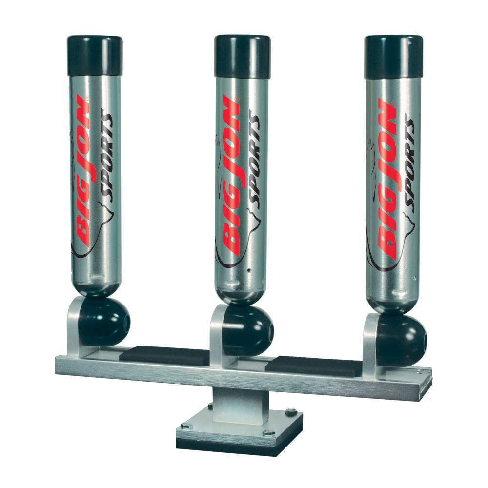 Big Jon Triple Multi Set Rod Holder Pedestal Mount