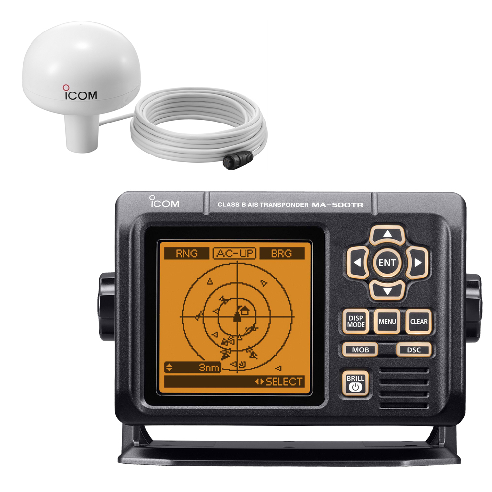 Icom MA-500TR AIS Transponder with MX-G5000 GPS Receiver Class B - MA-500TR KIT