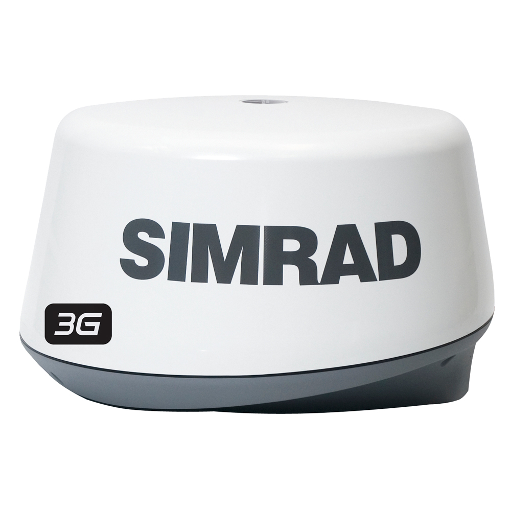 Simrad 3G Broadband Radar Dome for NSE, NSO & NSS Series with 20M Cable - 000-10420-001