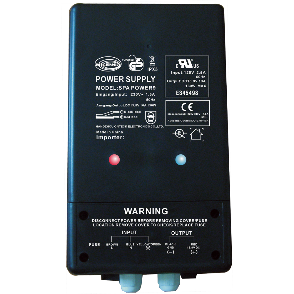 Milennia SPAPOWER9 Watertight Power Supply - MILSPAPOWER9