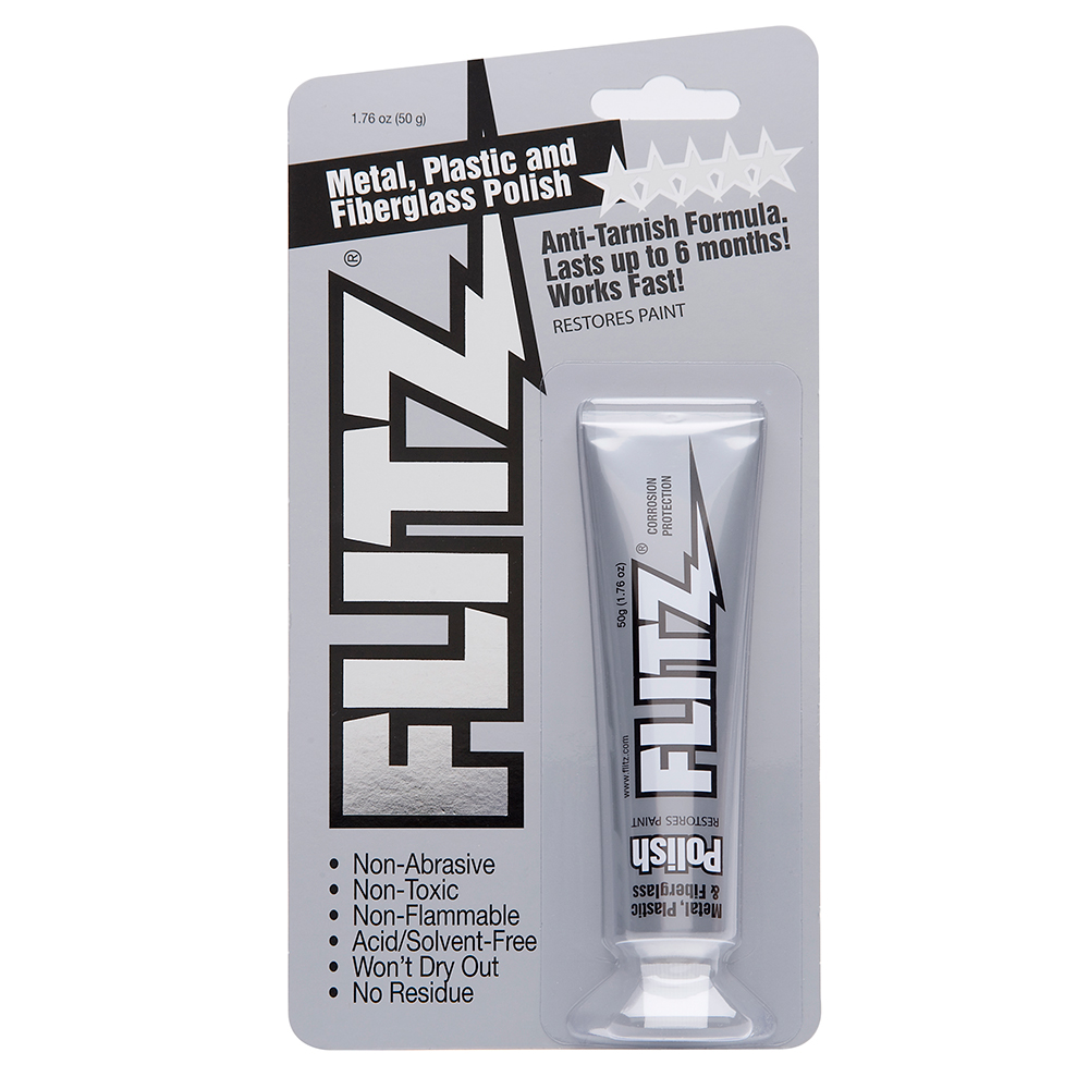 Flitz Polish - Paste - 1.76 oz. Tube - BP 03511