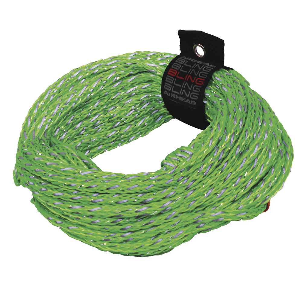 AIRHEAD Bling 2 Rider Tube Rope - 60' - AHTR-12BL
