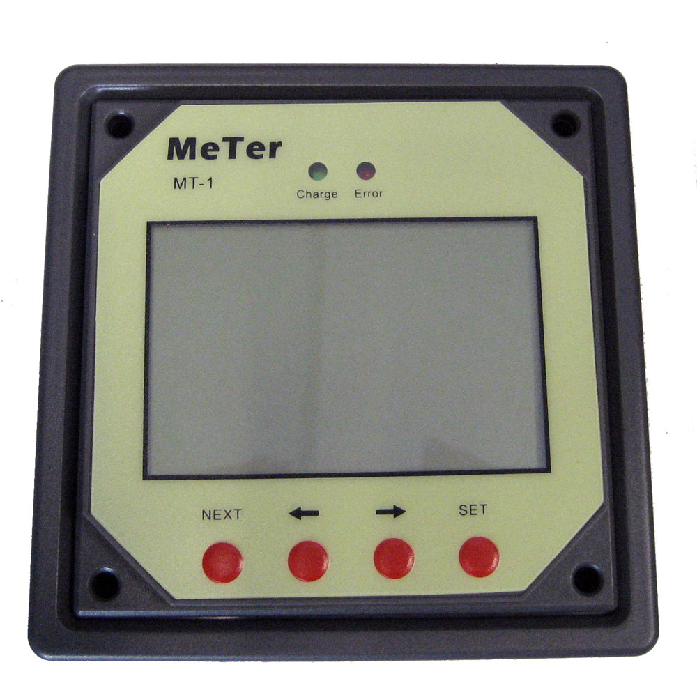 Ganz Eco-Energy Remote Meter For Dual Charge Controller [Gcc-Rm]