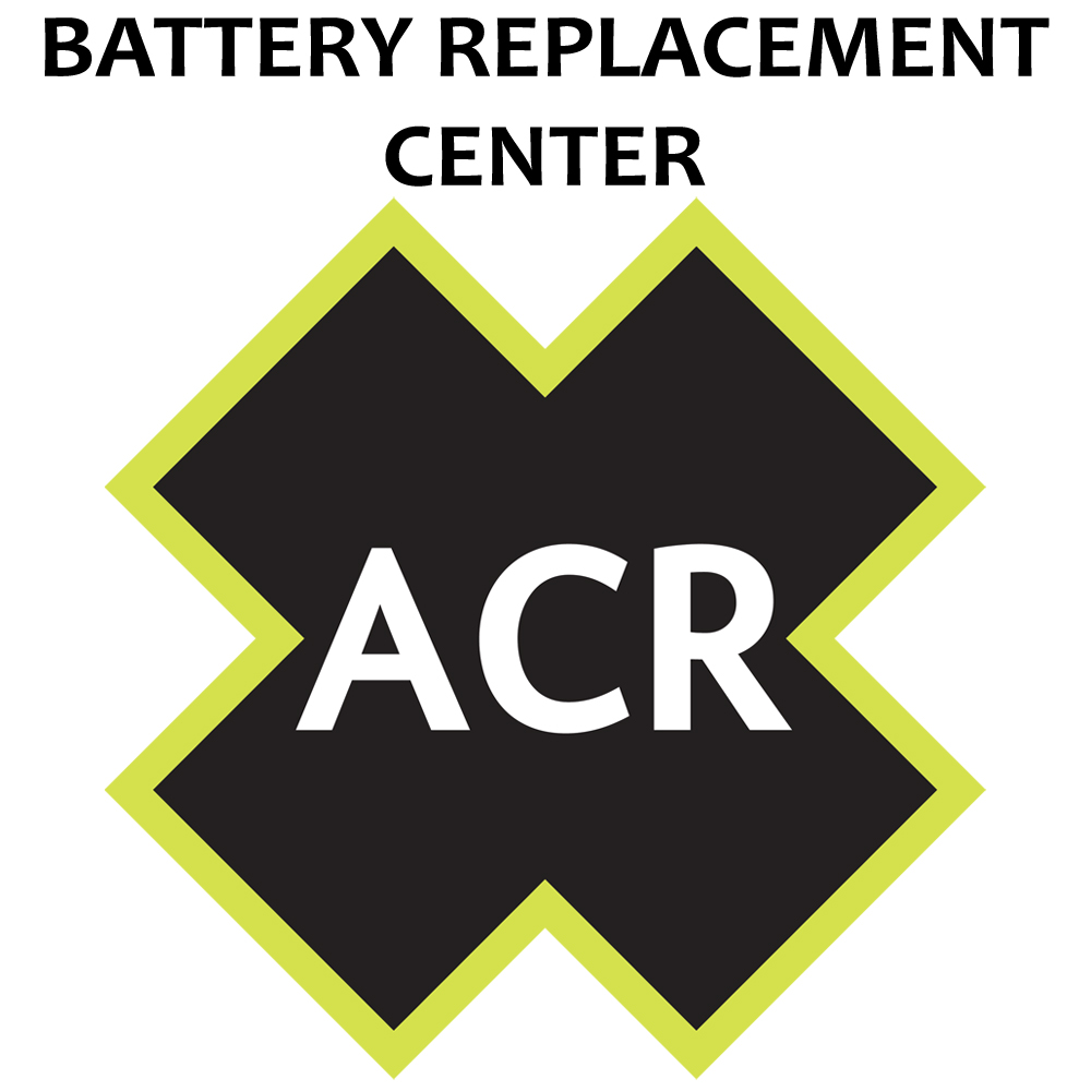 ACR FBRS 2898 Battery Replacement Service - PLB-300 MicroFix CD-44029