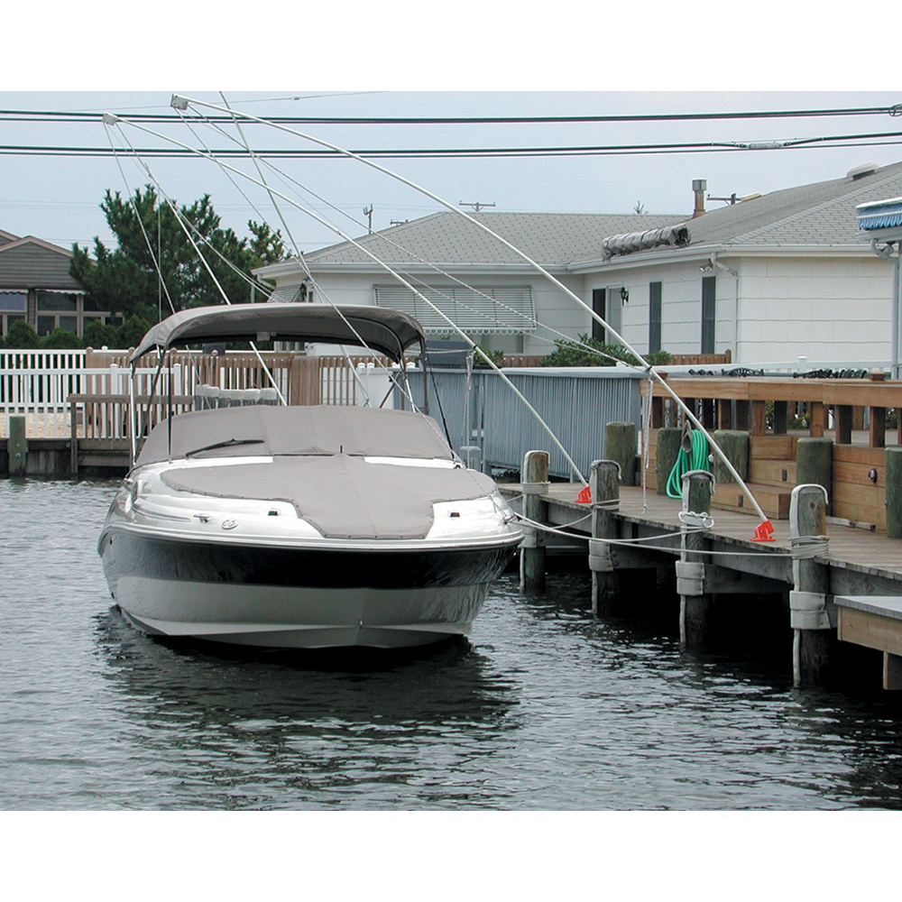 Monarch Nor'Easter 2 Piece Mooring Whips for Boats up to 30' - MMW-IIE