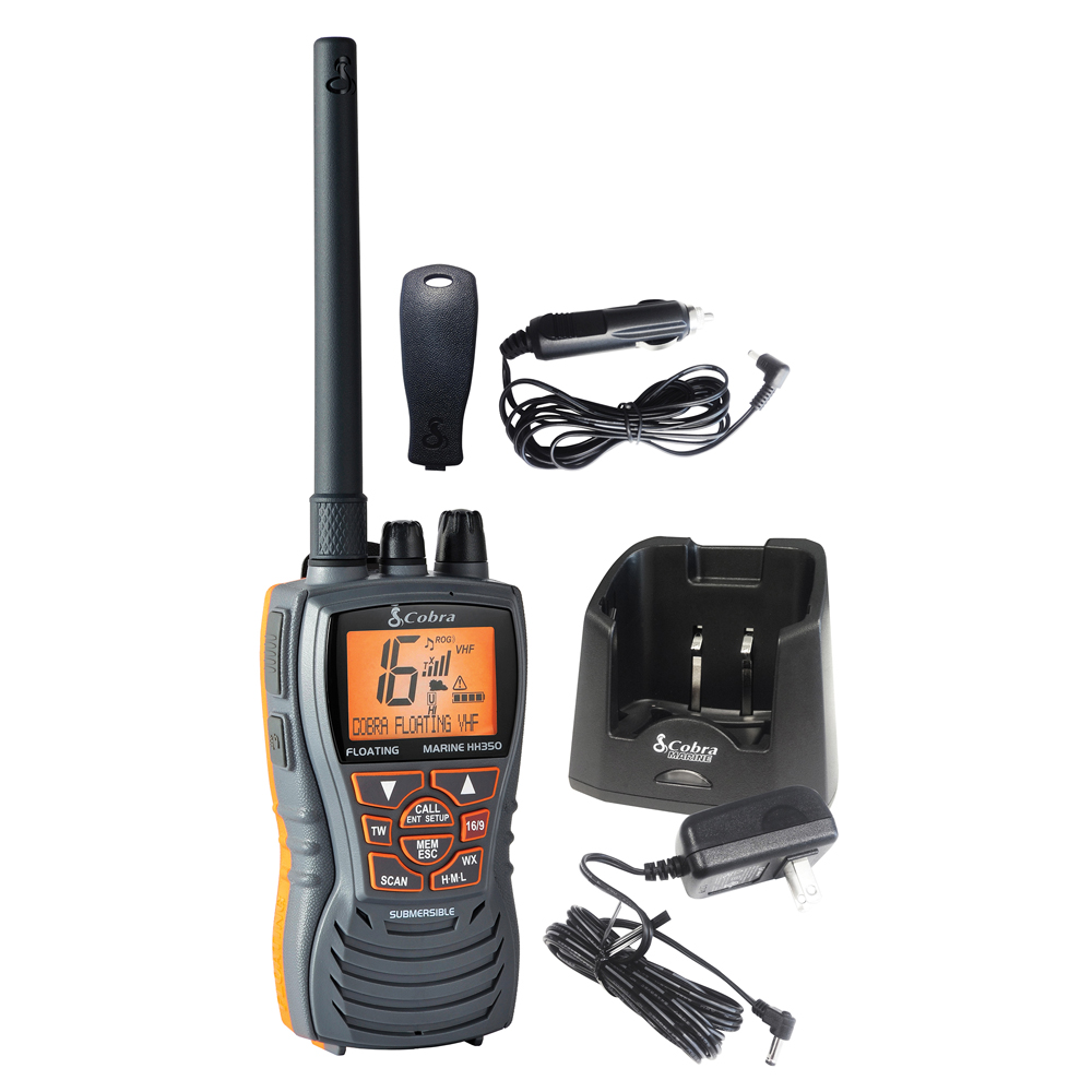 Cobra MR HH350 FLT Floating 6W VHF Radio - MR HH350 FLT