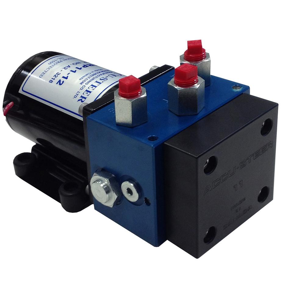 Accu-Steer HRP17-24 Hydraulic Reversing Pump Unit - 24 VDC - HRP17-24