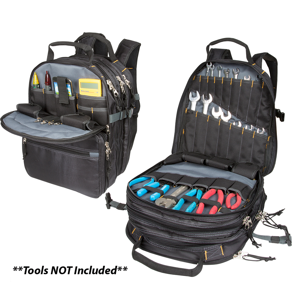 CLC 1132 75 Pocket Heavy-Duty Tool Backpack - 1132