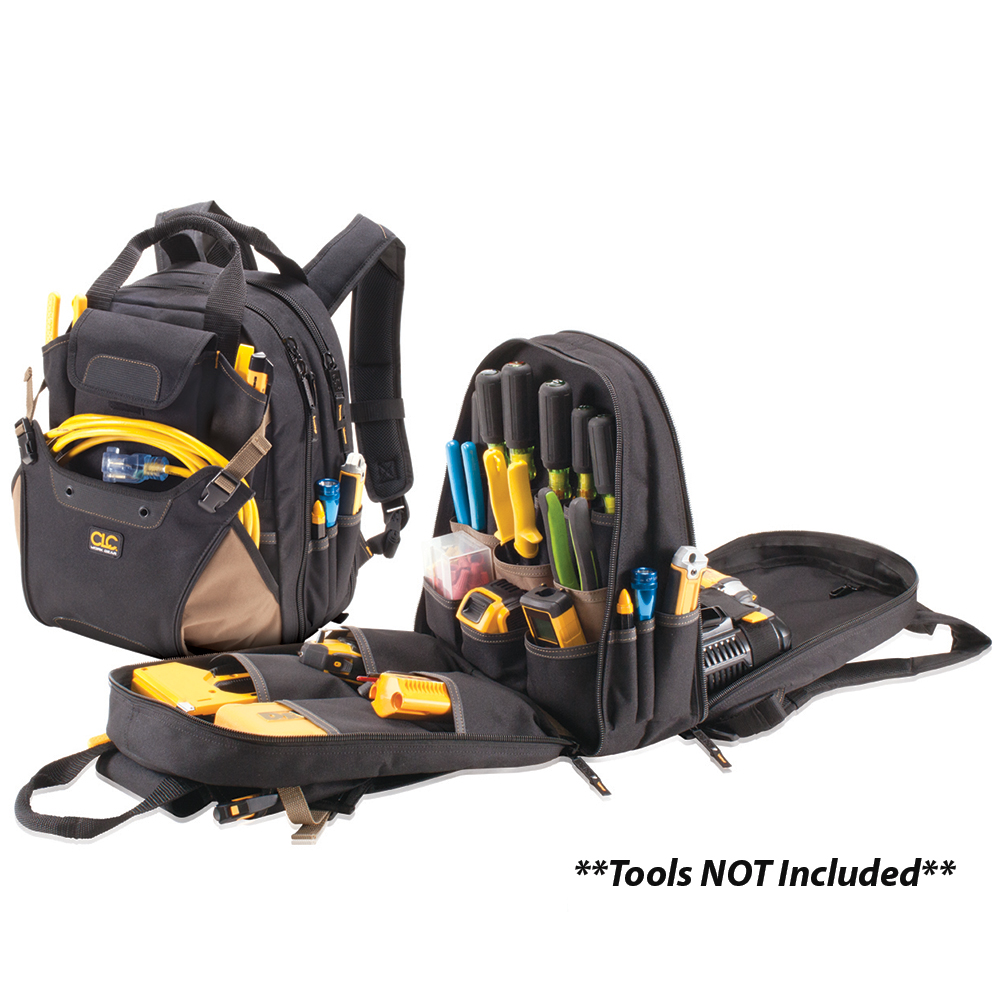 CLC 1134 44 Pocket Deluxe Tool Backpack - 1134