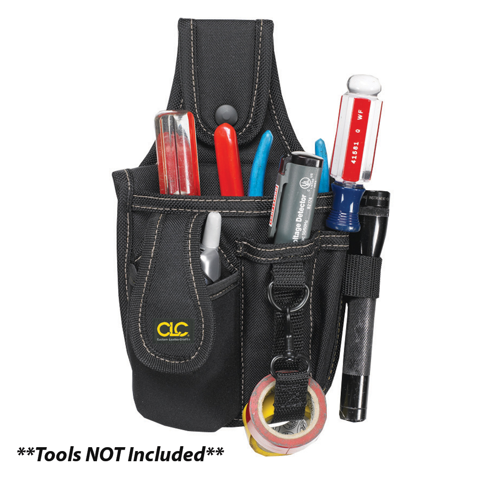 CLC 1501 4 Pocket Tool and Cell Phone Holder - 1501