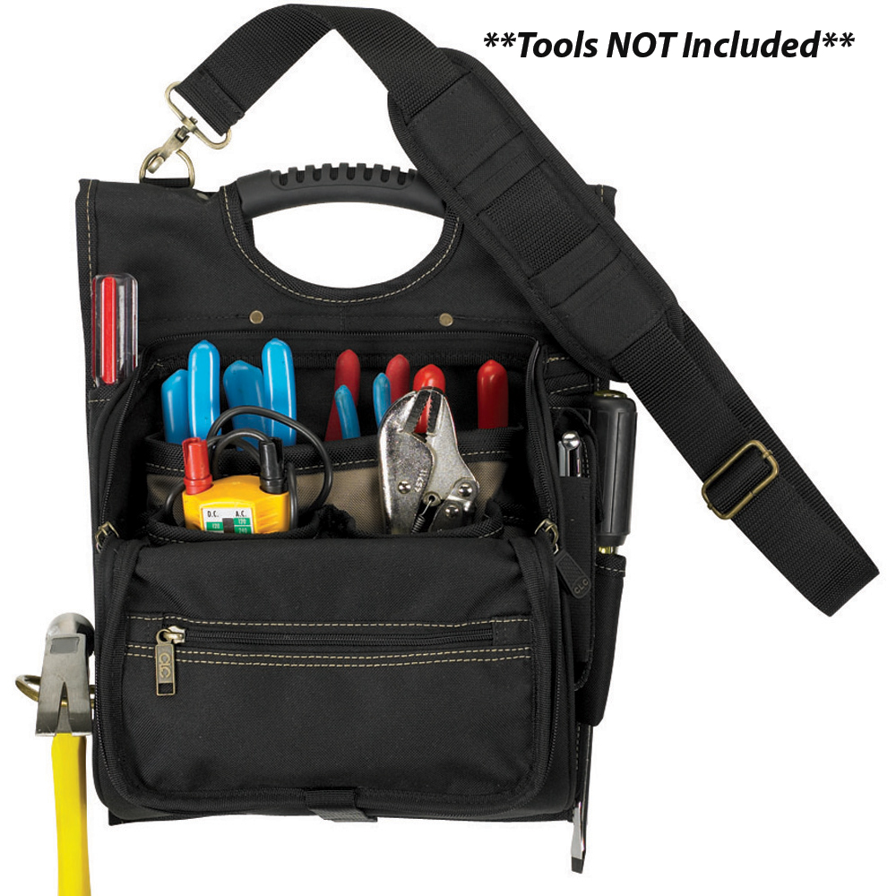CLC 1509 21 Pocket Professional Electrician's Tool Pouch - 1509