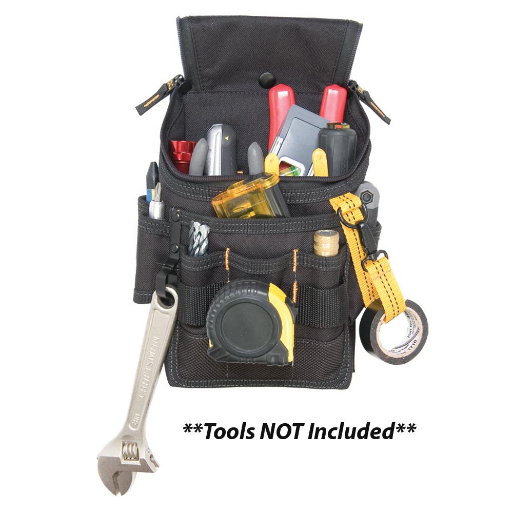 CLC 1524 Medium Ziptop Utility Pouch - 1524