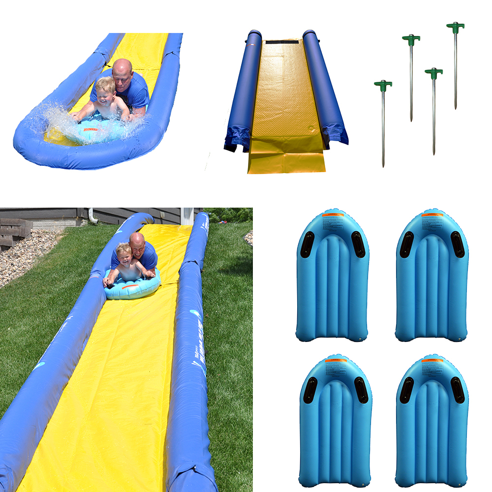 RAVE Turbo Chute™ Water Slide Backyard Package with Turbo Sled - 02471