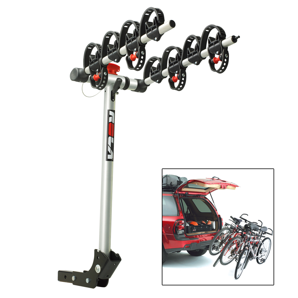 ROLA Bike Carrier - TX with Tilt & Security - Hitch Mount - 4-Bike - 59401