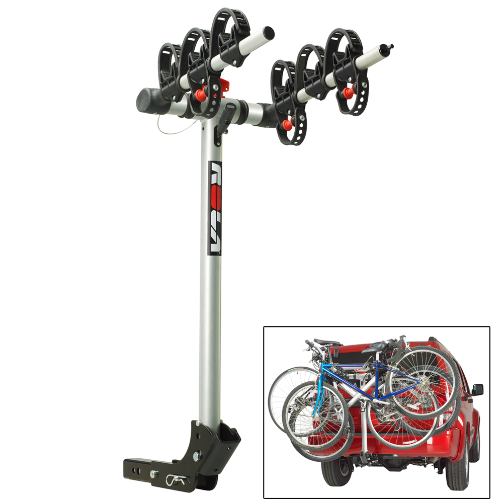 ROLA Bike Carrier - TX with Tilt - Hitch Mount - 3-Bike - 59403
