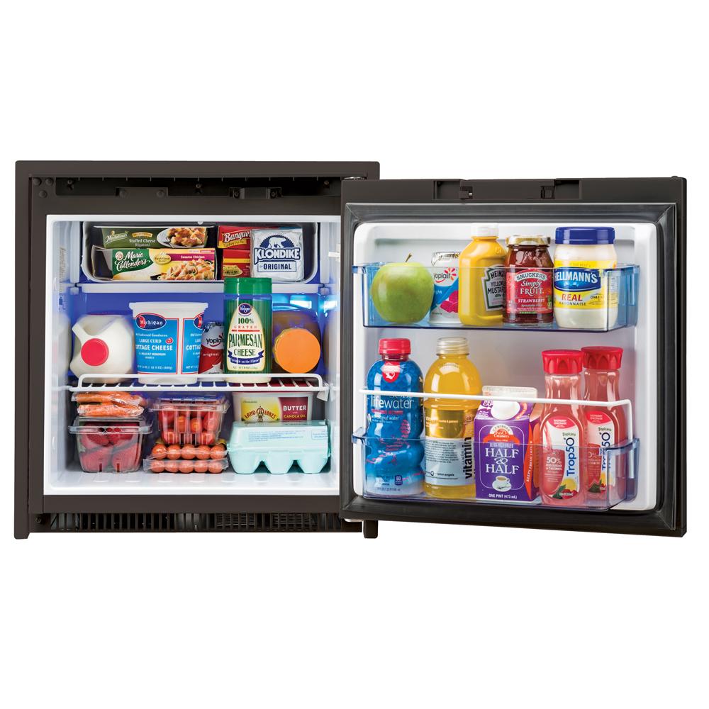 Norcold 2.7 Cubic Feet AC/DC Marine Refrigerator - Black - NR751BB