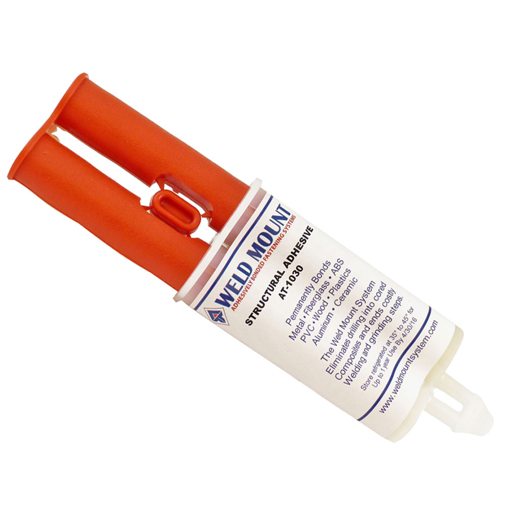 Weld Mount 1030 Acrylic Adhesive with Plunger - 1030