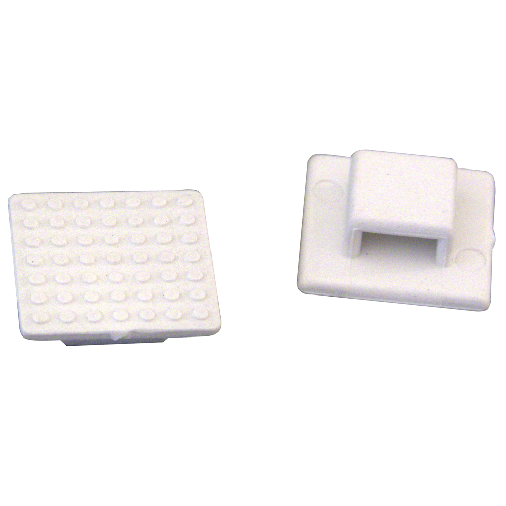 Weld Mount AT-3 Small White Nylon Wire Tie Mount - Qty. 30 - 803