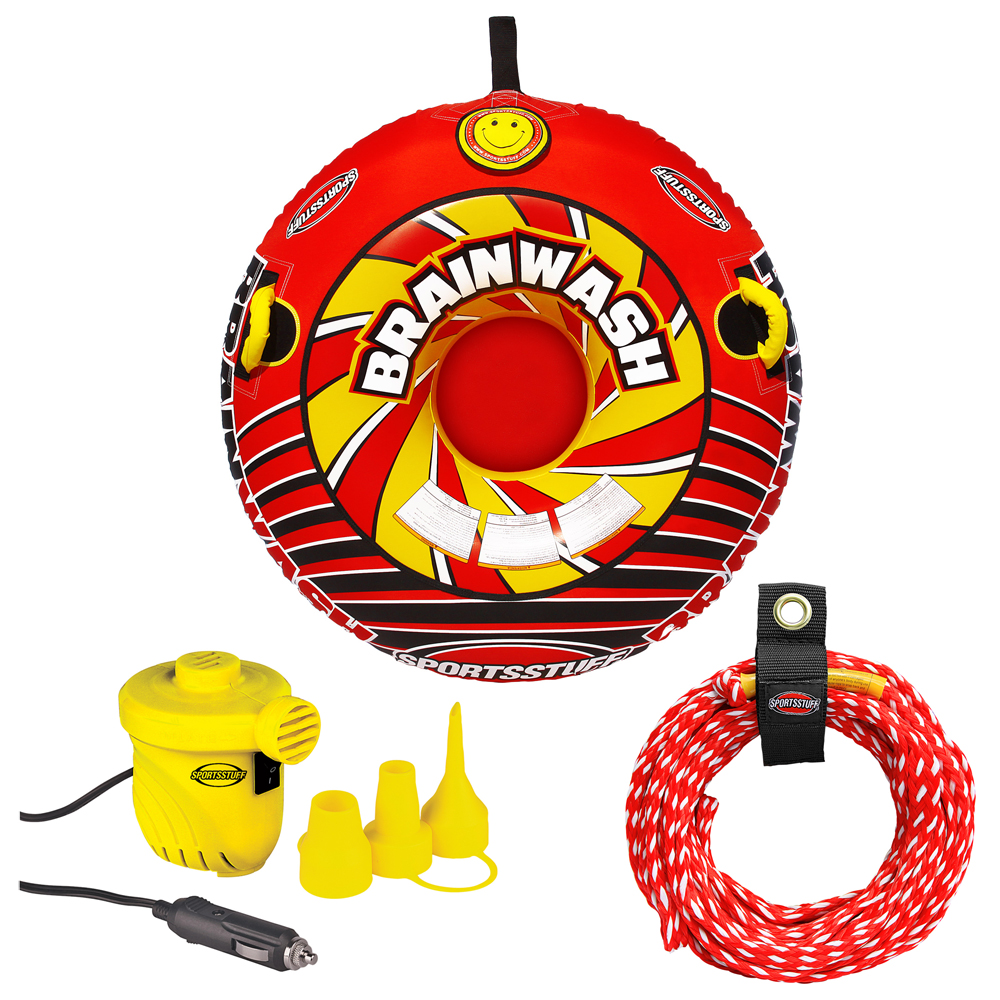 SportsStuff Brainwash Towable with Rope & Pump Kit - 53-6501