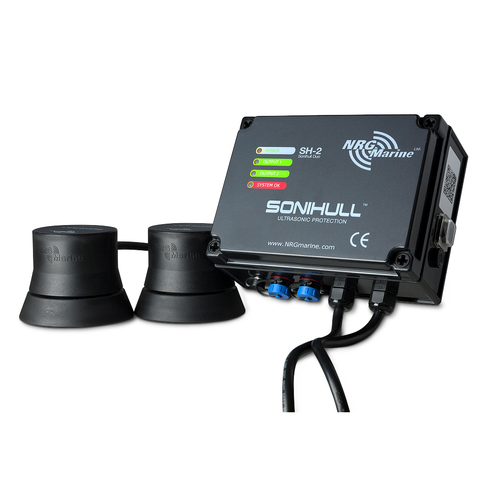 NRG Marine Sonihull Duo Ultrasonic Antifouling System - NRGSH2