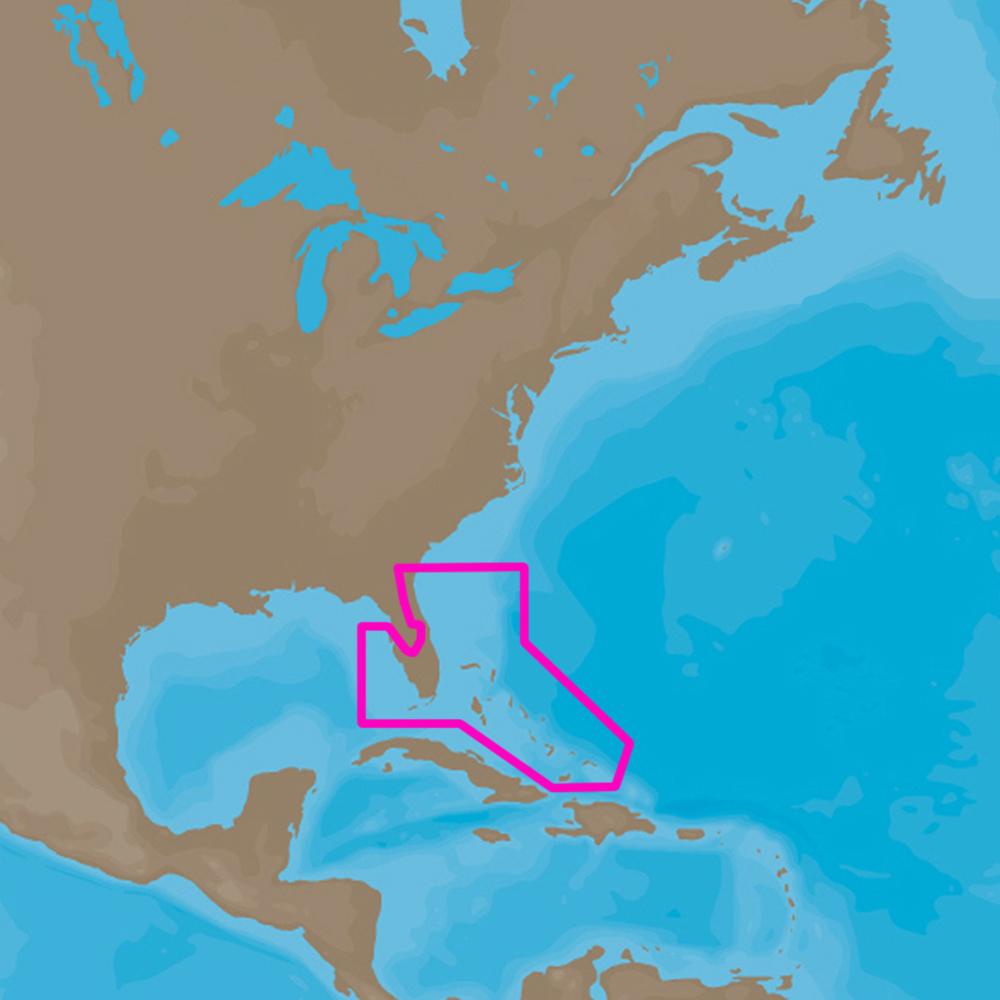 NA-Y943,Florida/&The Bahamas,NA-Y943 C-MAP MAX-N