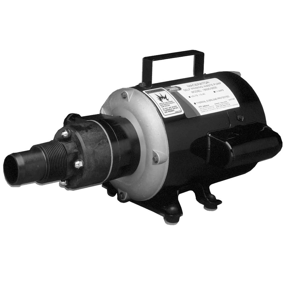Jabsco Macerator Pump - 115V [18690-0000]