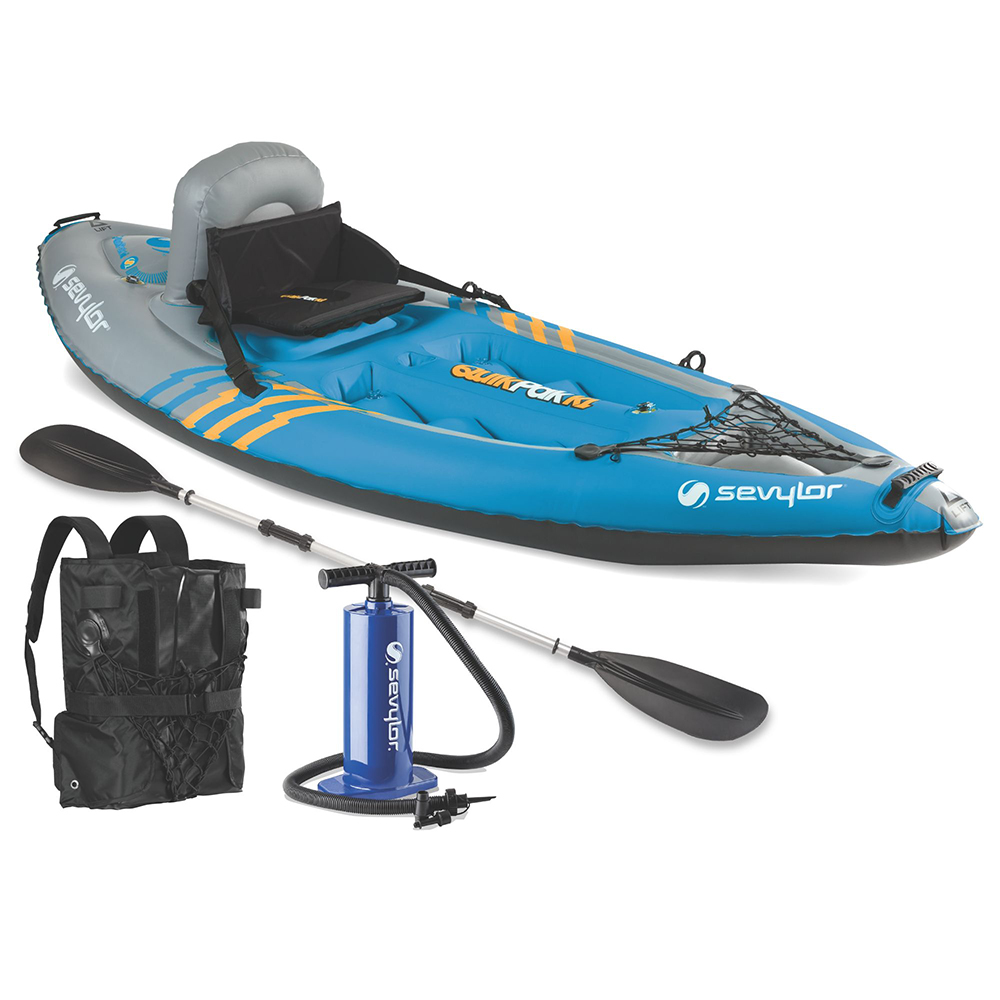 Sevylor K1 QuikPak Inflatable Kayak - 2000014137