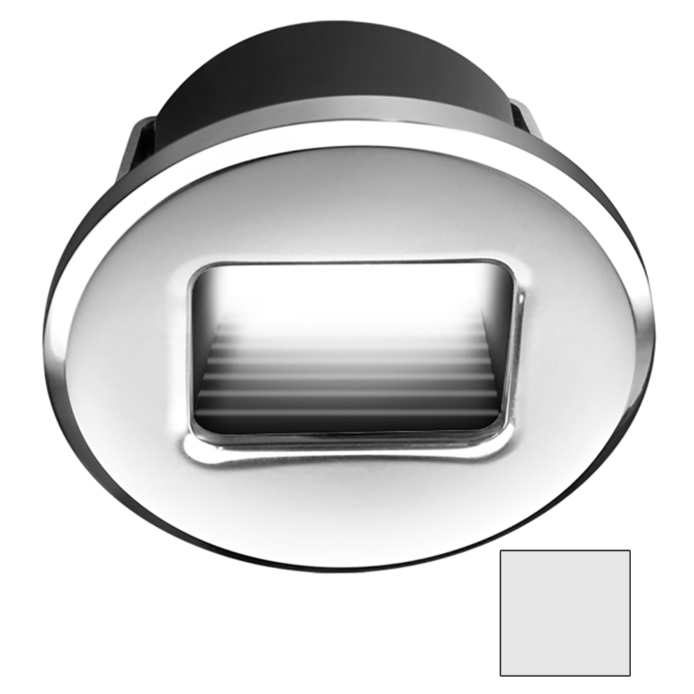 i2Systems Ember E1150 Snap-In Round Light - Cool White, Chrome Finish - E1150Z-11AAH