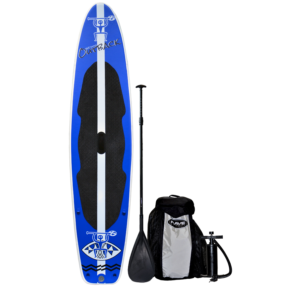 RAVE Outback Inflatable SUP Stand Up Paddle Board - 10'6