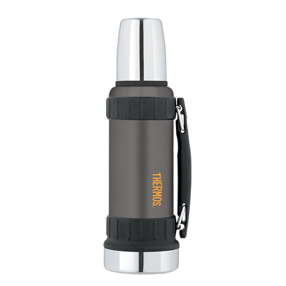 Thermos Work Series Vacuum Insulated Beverage Bottle - 40 oz. - Gunmetal Gray - 2520GMTRI2