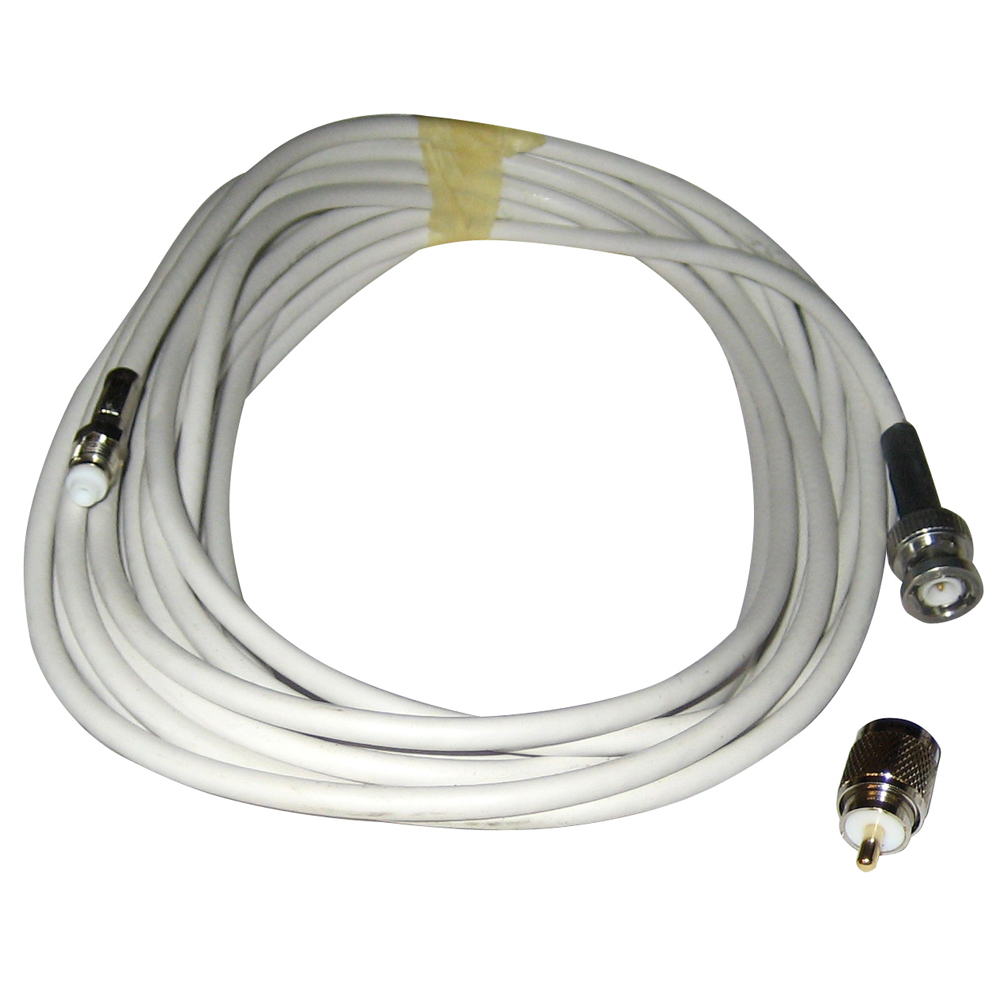 Comrod VHF RG58 Cable with BNC & PL259 Connectors - 12M - 21777