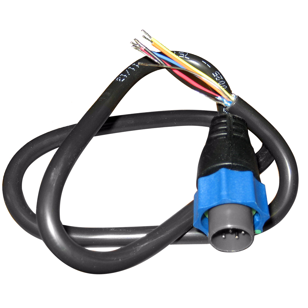 Details About Oem Lowrance Simrad 7 Pin Blue Connector To Bare Wires Transducer Adapter Cable Chirp Wiring Diagram Elite 5 Main Image