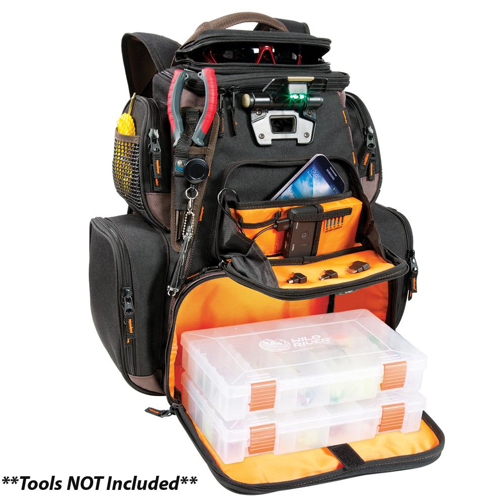 Wild River Tackle Tek Nomad Xp Lighted Backpack With