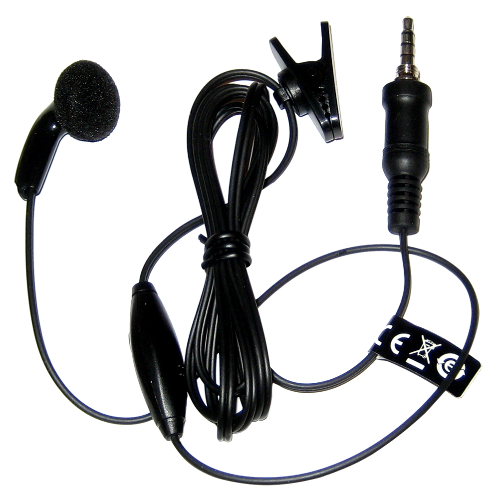 Standard Horizon Earpiece/Microphone for HX270, HX370, HX471 & HX400 - SSM-55A