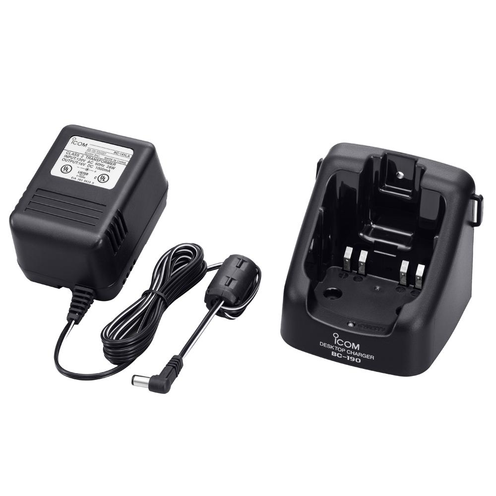 Icom 220V Sensing Rapid Charger for M88, F50 & F60 - BC190 02