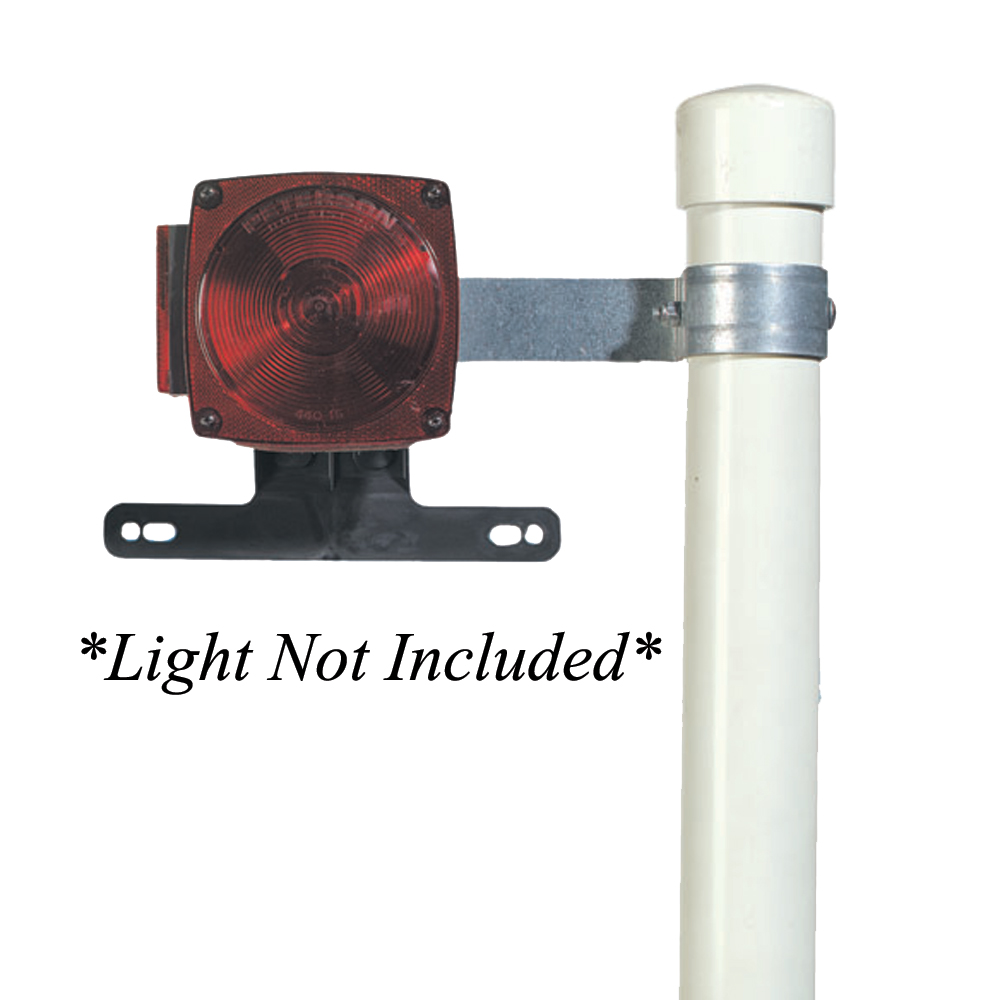 C.E. Smith Tail Lamp Brackets for Post Style Guide-Ons - 27650A