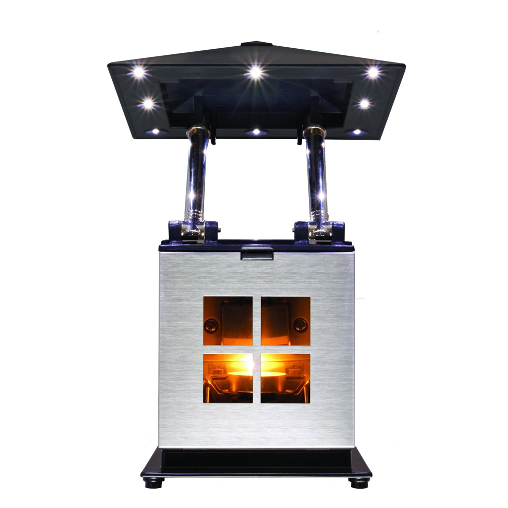 Caframo JOI Lamp - Heat Powered Tea Light Candle - Runs 4 Hours - 8310CASBX