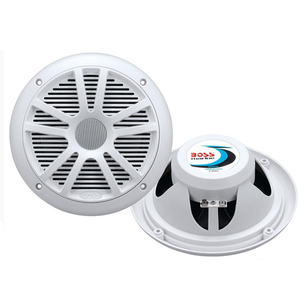 "Boss Audio MR6W 6.5"" Dual Cone Marine Coaxial Speaker"