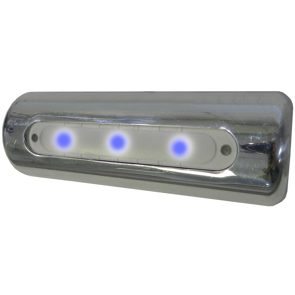 TACO LED Deck Light - Pipe Mount - Blue LEDs - F38-8600BXZ-B-1