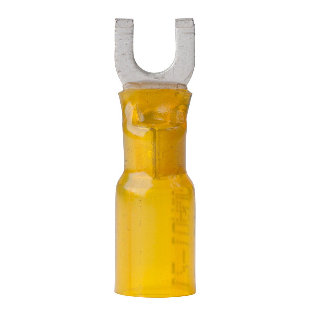 Ancor 12-10 Gauge - #10 Heat Shrink Spade Terminals - 25-Pack - 315325