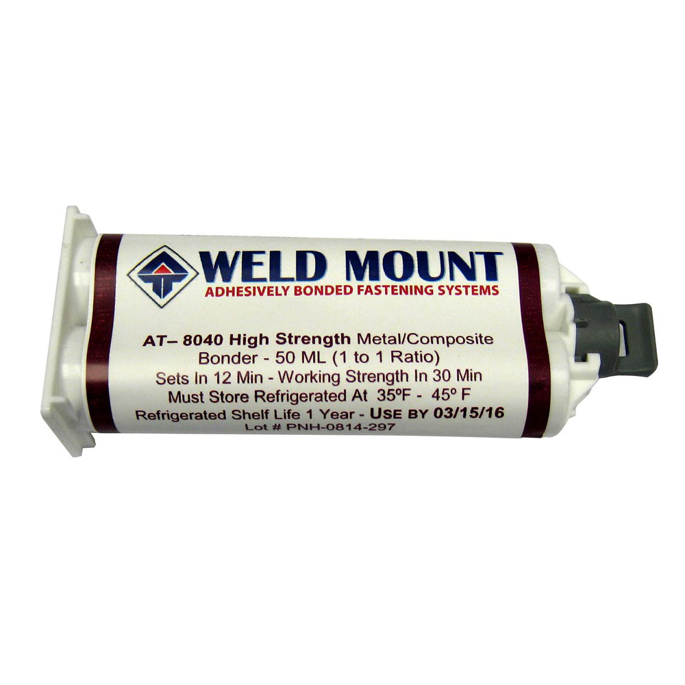 Weld Mount No Slide Metal/Composite Bonder - 8040