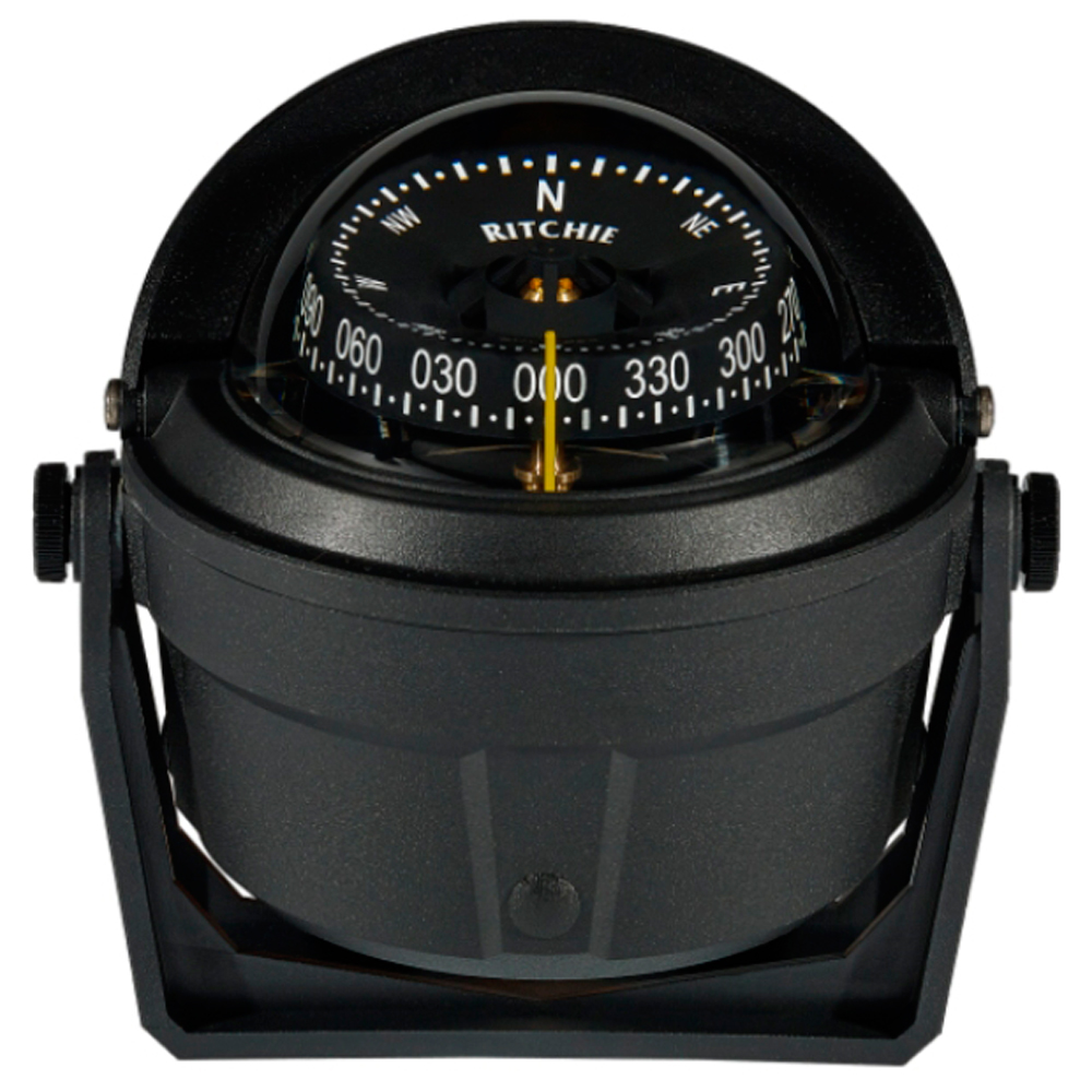 Ritchie B-81-WM Voyager Bracket Mount Compass - Wheelmark Approved for Lifeboat & Rescue Boat Use - B-81-WM