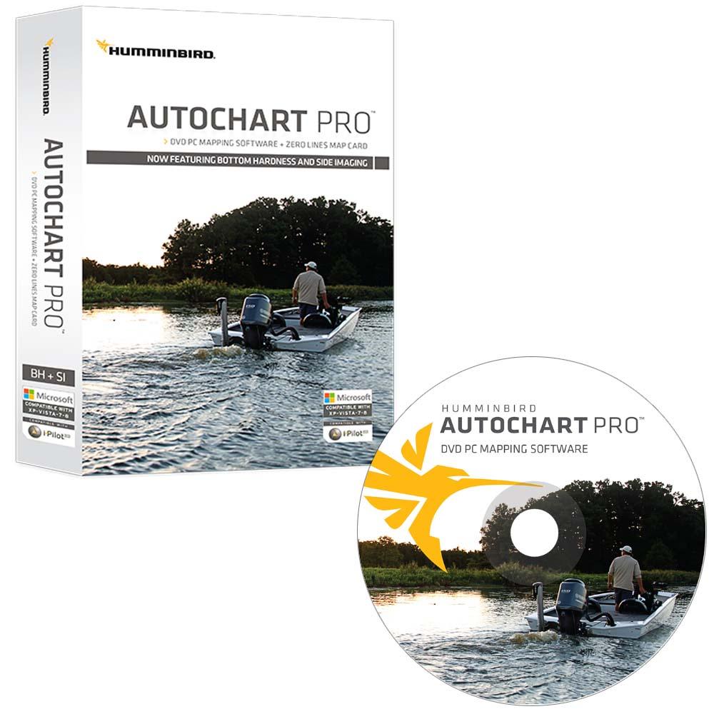 Humminbird® solix® 12 / sar hawk® surveyor software / accessory.