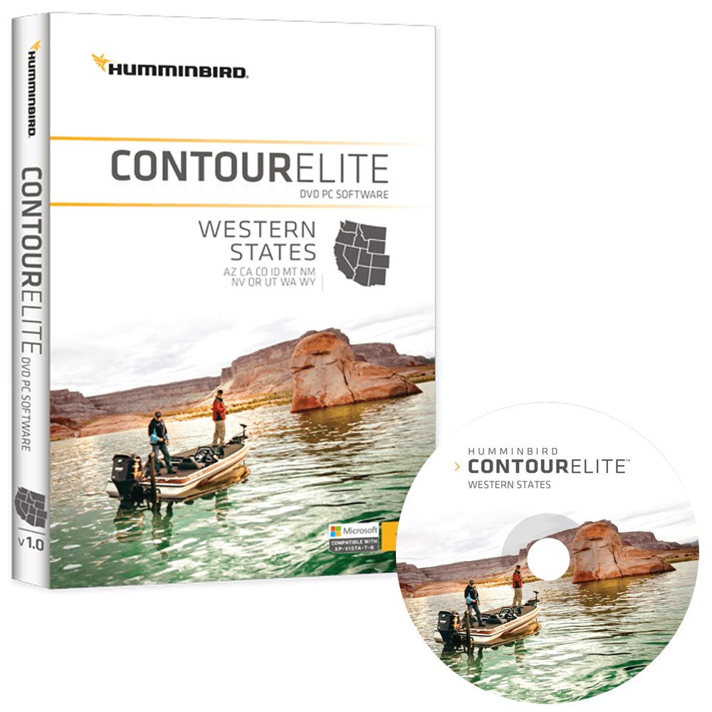 Humminbird Contour Elite - Western States - Version 2 - 600012-2