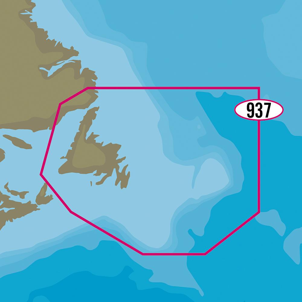 C-MAP MAX-N+ NA-Y937 - Newfoundland - NA-Y937