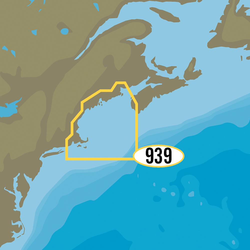 C-MAP MAX-N+ NA-Y939 - Passamaquoddy Bay to Block Island - NA-Y939