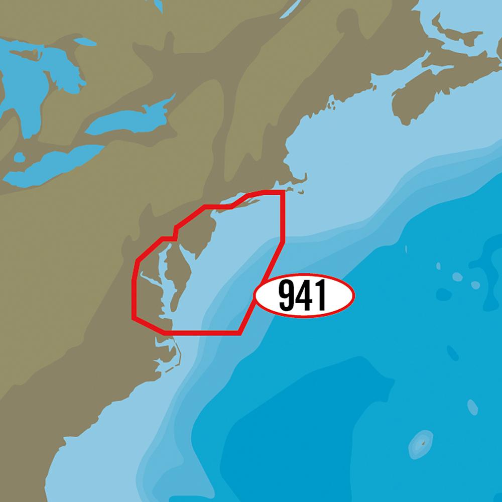 C-MAP MAX-N+ NA-Y941 - Block Island to Norfolk - NA-Y941