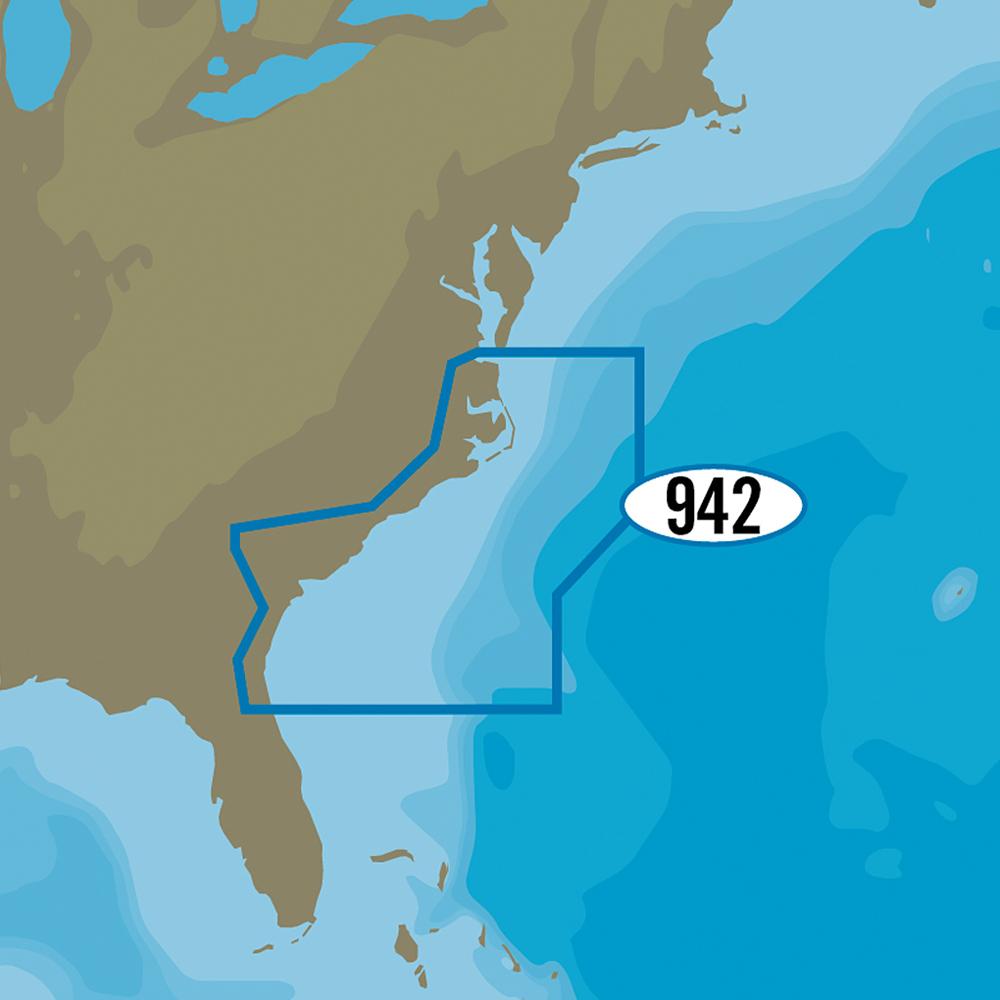 C-MAP MAX-N+ NA-Y942 - Norfolk to Jacksonville - NA-Y942